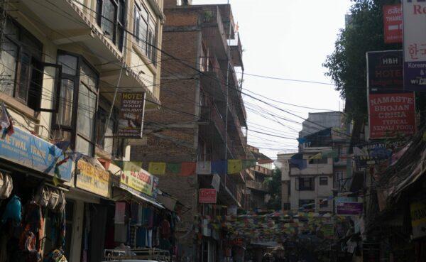Nepal - Kathmandu, Street At Thamel
