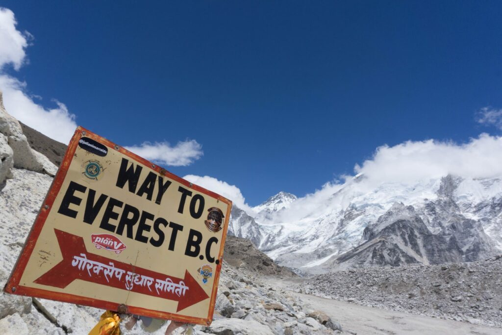 Way to Everest B.C.