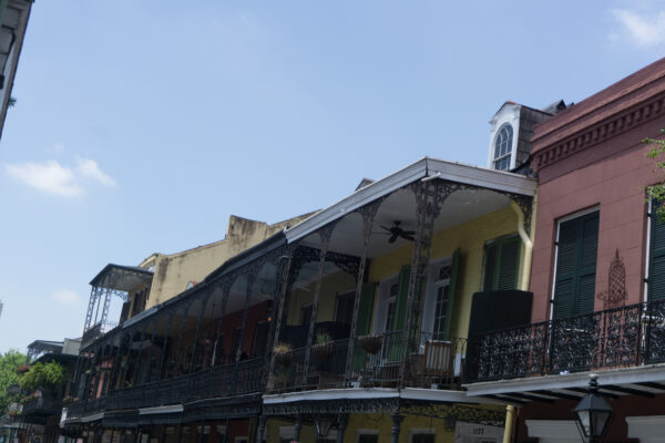 New Orleans, French Quarter Balconies