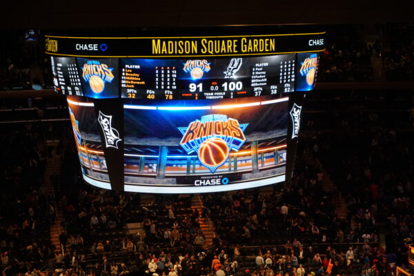 New York, Madison Square Garden