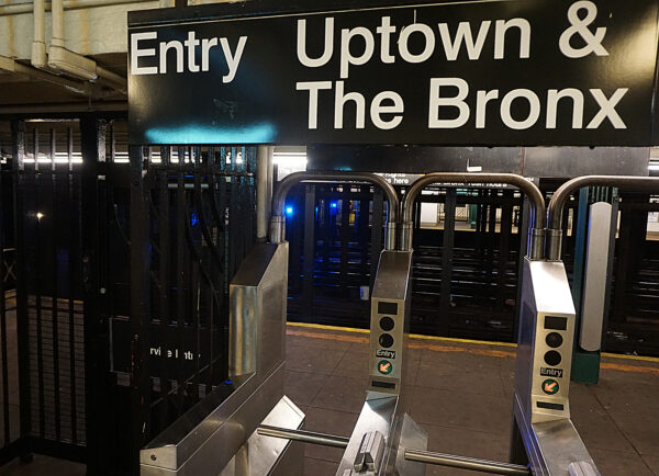 New York, Metro Entry Uptown And The Bronx
