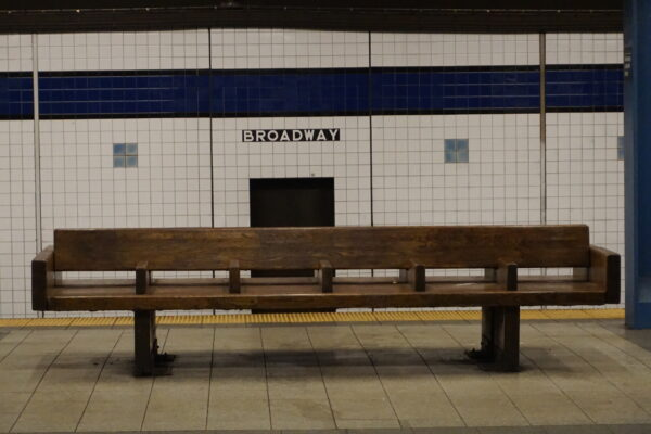 New York, Metro Station Broadway