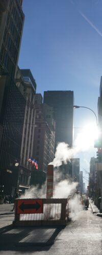 New York Steam Vent