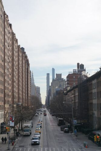 New York, Street View From The Highline