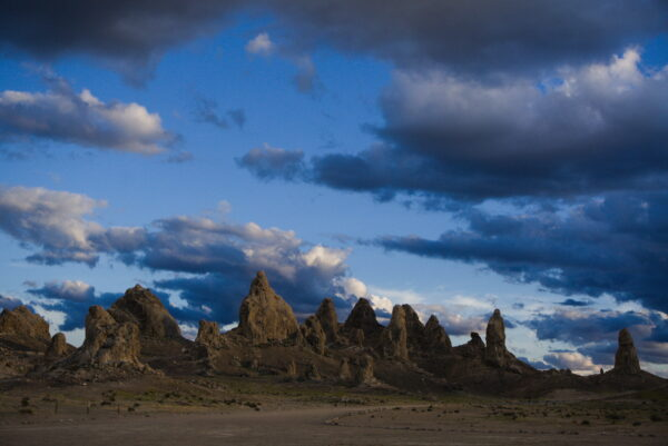 Night Sky At Trona Pinnacles