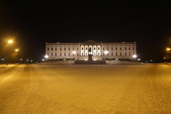 Oslo, The Royal Palace