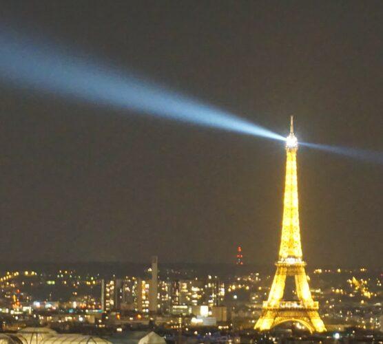 Paris, Eiffel Tower By Night