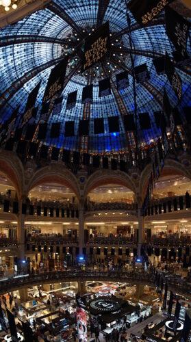 Paris - Galeries Lafayette, Inside View