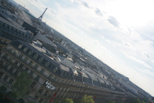 Paris - Galeries Lafayette, Rooftop