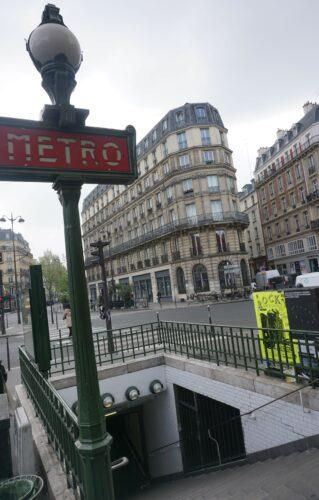 Paris, Metro Entrance