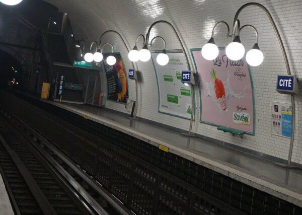 Paris, Metro Station Cite