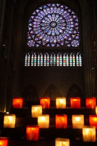 Paris - Notre Dame, Candles Inside