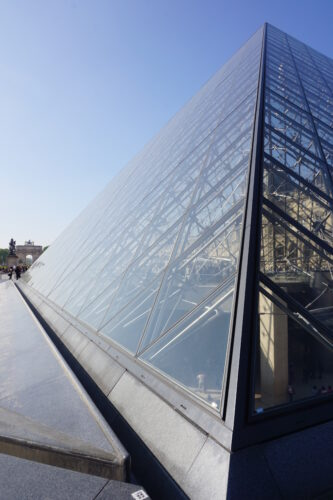 Paris, Pyramid Of Louvre