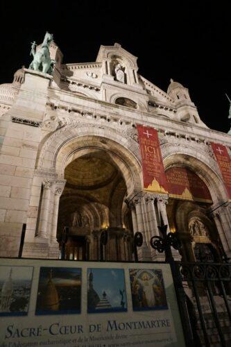 Paris, Sacre Coeur De Montmartre