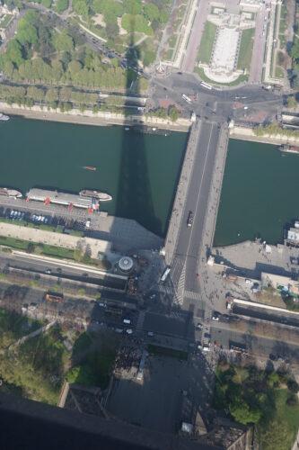 Paris, Shadow Of Eiffel Tower