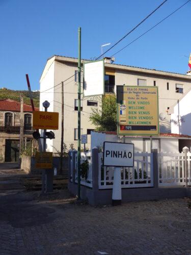 Pinhao Entrance Sign