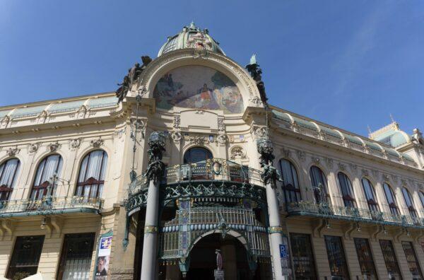 Prague, Municipal House And Concert Hall