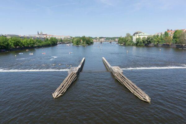 Prague, Vltava River View