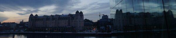 Reflecting In Oslo Opera House