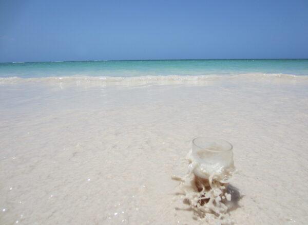 Republica Dominicana, Glass In Sea