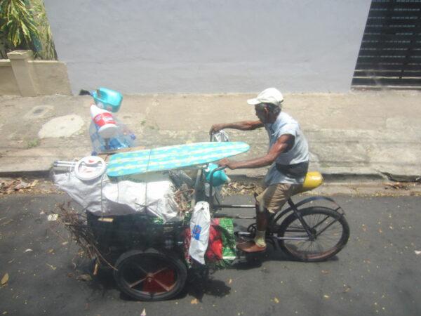 Republica Dominicana - Santo Domingo, Man On Bike