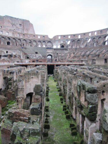 Rome, Inside Colosseum
