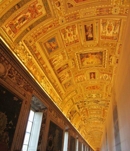 Rome - Vatican City, Musei Vaticani Ceiling