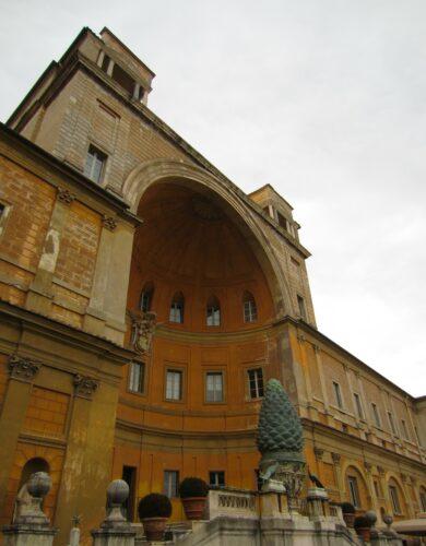 Rome - Vatican City, Musei Vaticani Cortile Del Belvedere