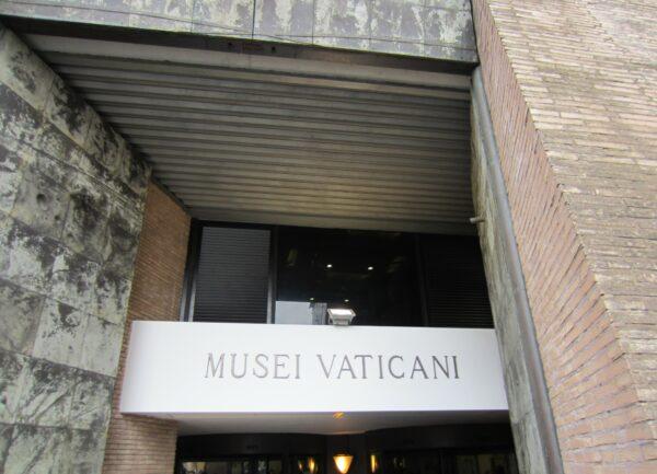 Rome - Vatican City, Musei Vaticani Entrance