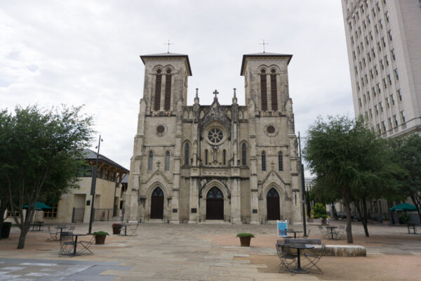 San Fernando Cathedral At San Antonio