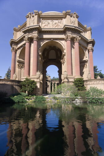 San Francisco, The Palace Of Fine Arts