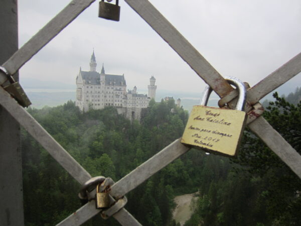 Schloss Neuschwanstein, View From Bridge