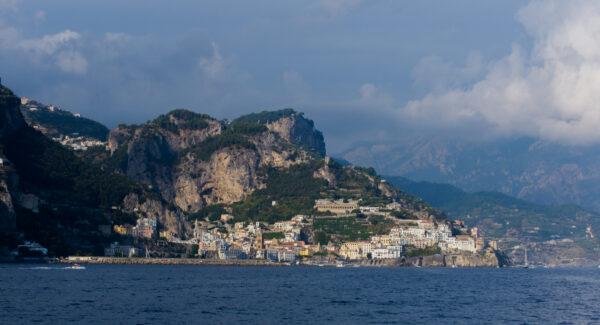 Sea View To Amalfi Town