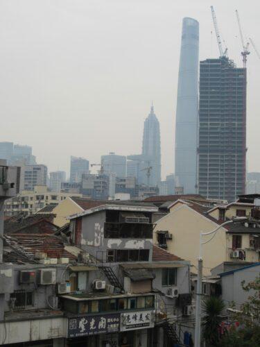 Shanghai, Old Building And Skyline