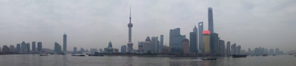 Shanghai, Panorama View From