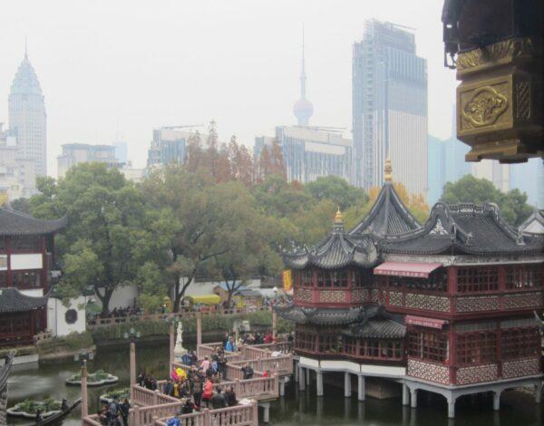 Yu Yuan Teahouse And Zig Zag Bridge