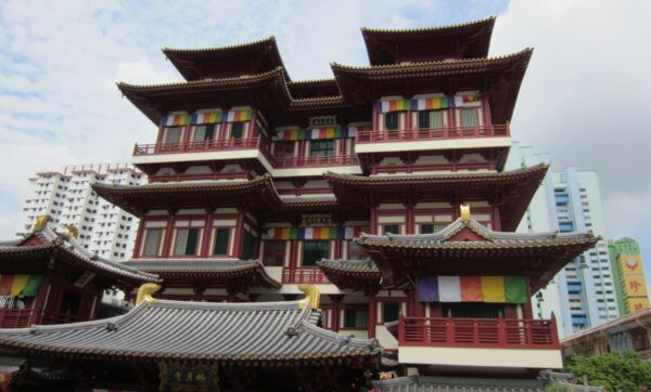 Singapore, Buddha Tooth Relic Temple