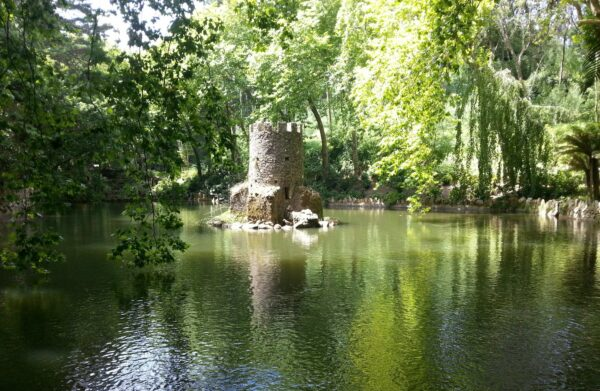 Sintra, Tower In Water