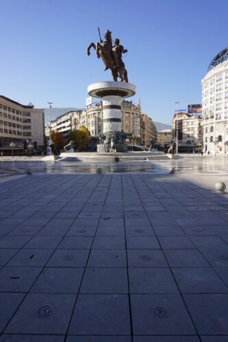 Skopje, Alexander The Great Statue