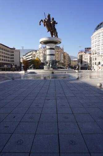 Skopje, Alexander The Great Statue