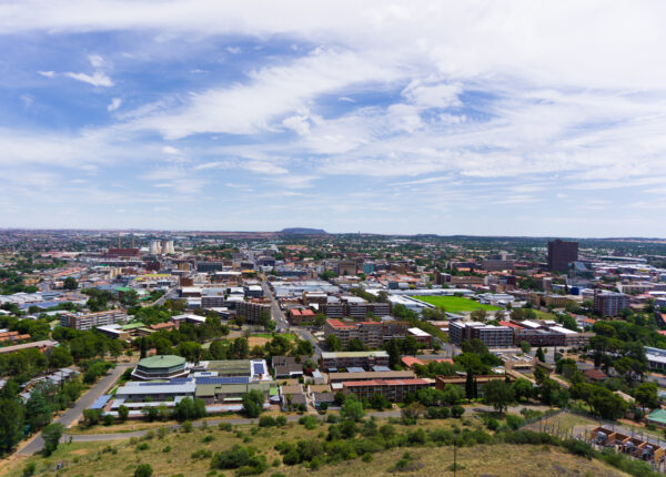 South Africa - Bloemfontein, Panorama View