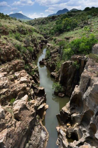 South Africa - Bourke's Luck Potholes, Canyon