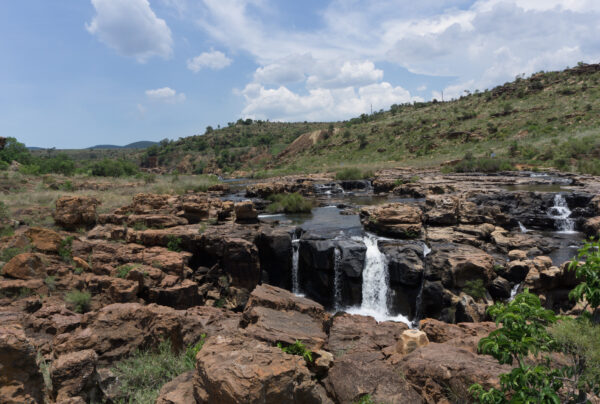 South Africa - Bourke's Luck Potholes, Waterfall