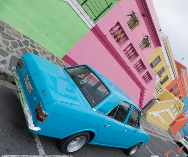 South Africa - Cape Town, Colorful Houses At Bo-Kaap