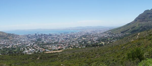 South Africa, Cape Town Panorama