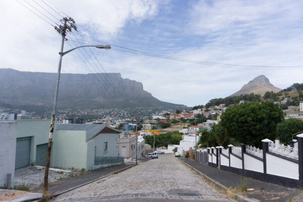 South Africa - Cape Town, View From Bo-Kaap