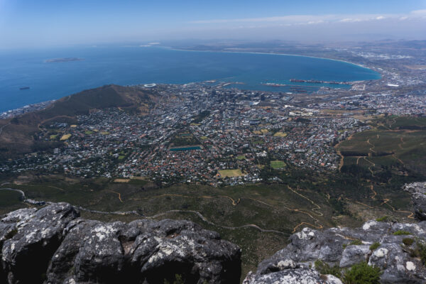 South Africa - Cape Town, View From Table Mountain