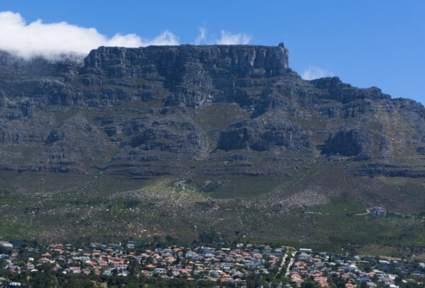 South Africa - Cape Town, View To Table Mountain