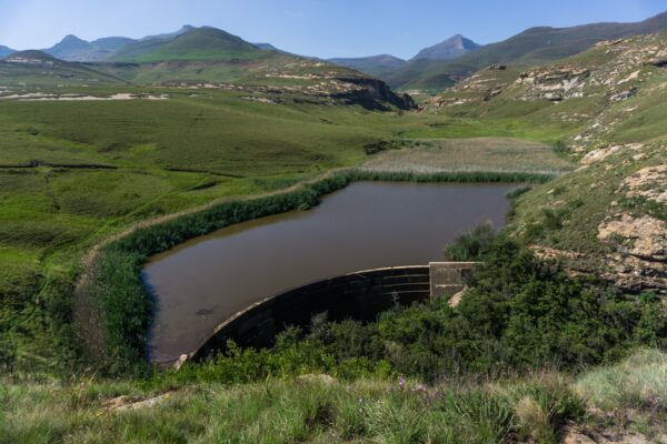 South Africa - Golden Gate Highlands, Longtoon Dam