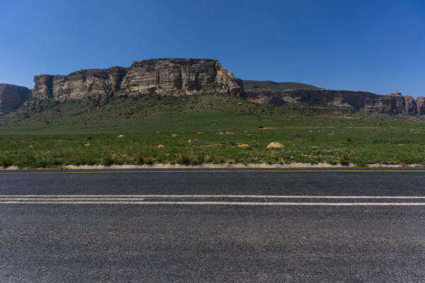 South Africa - Golden Gate Highlands, Road
